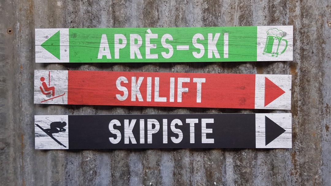 Après-ski decoratie maakt je feestlocatie af